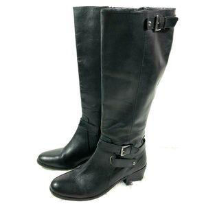 Arturo Chiang Classic Black Riding Boots